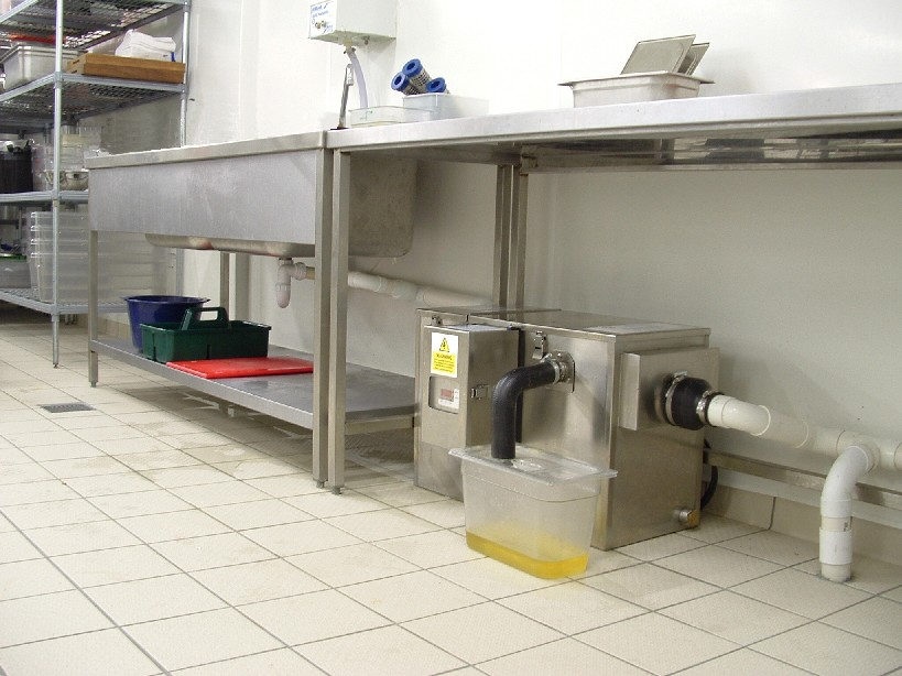 Dealing with grease grease trap grease managementeds for Kitchen grease trap
